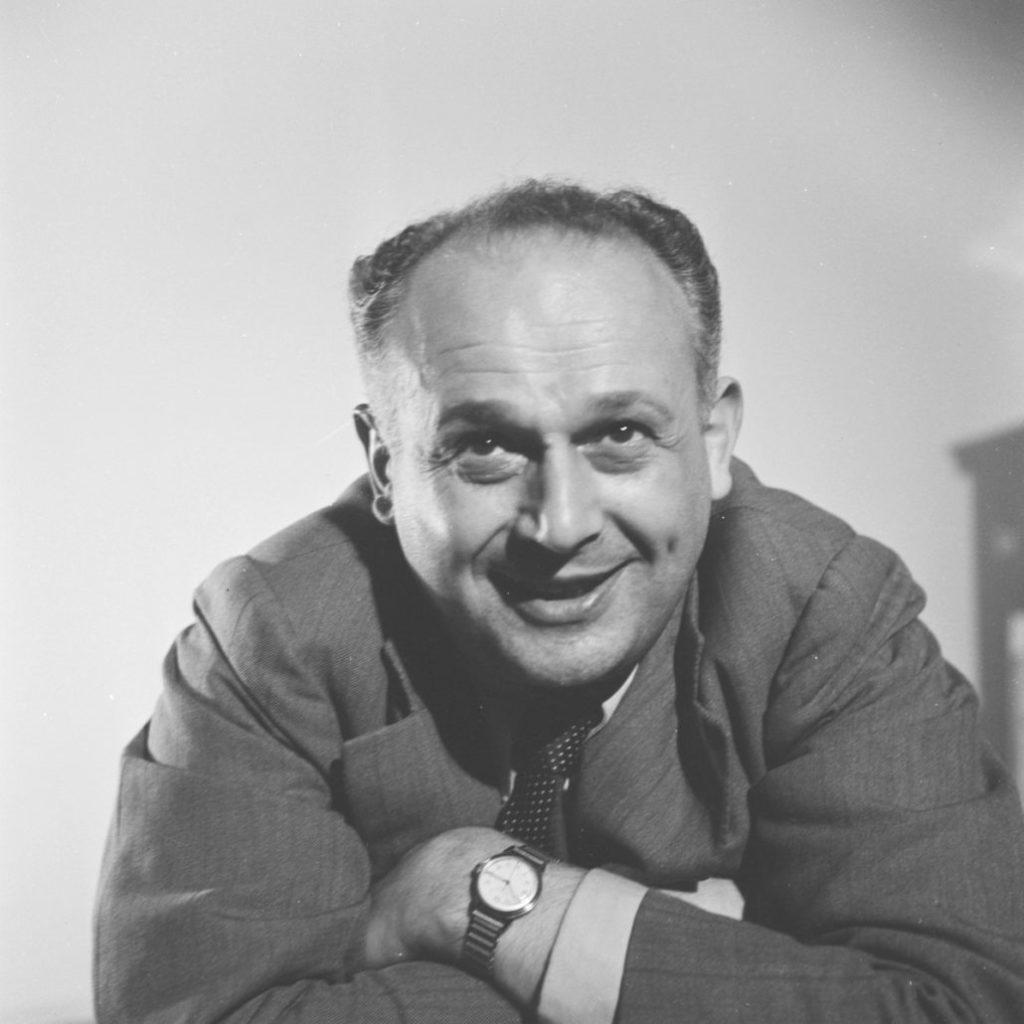 Moshe Feldenkrais - Portrait 3